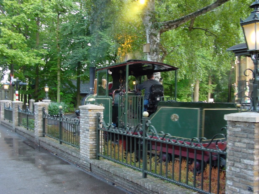 Steam At The Efteling